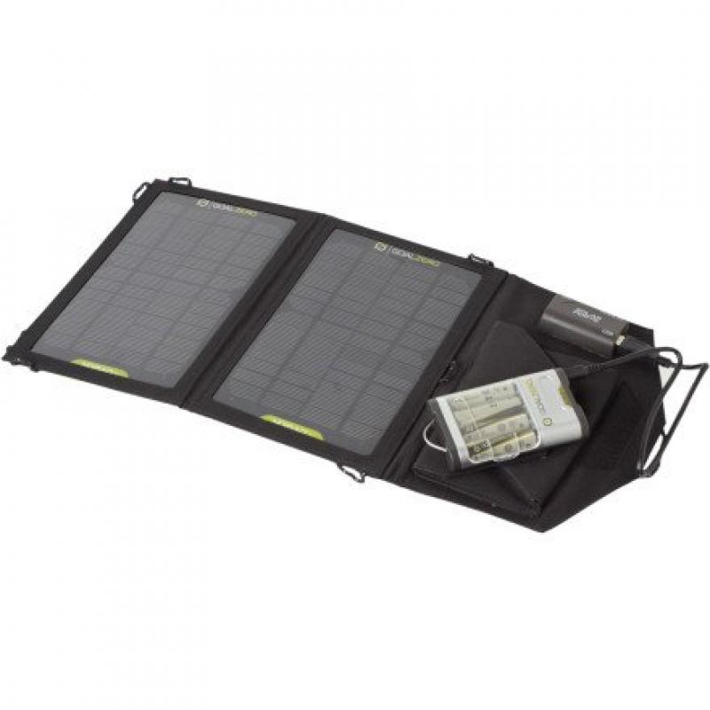 Goal Zero Guide 10 Plus Solar Recharging Kit with Nomad 7 Solar Panel by