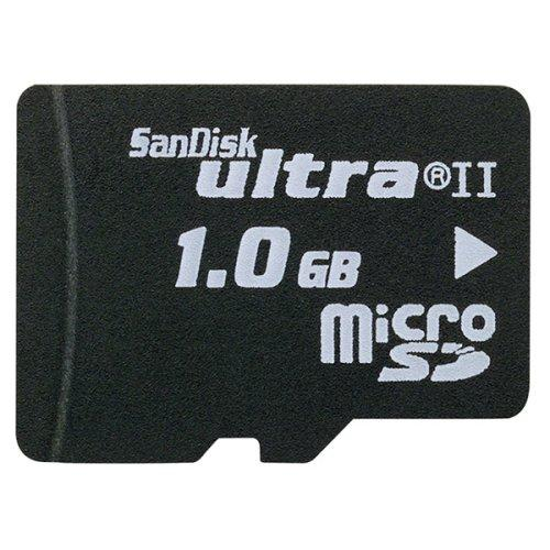 Sandisk sdsdqu1024a 1 gb ultra ii microsd memory card