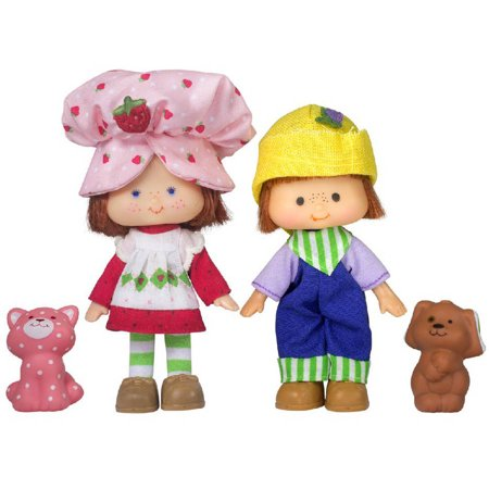Strawberry Shortcake and Huckleberry Pie Doll Set