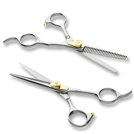 ShearGuru Professional Barber Scissor Hair Cutting Set - 6.5
