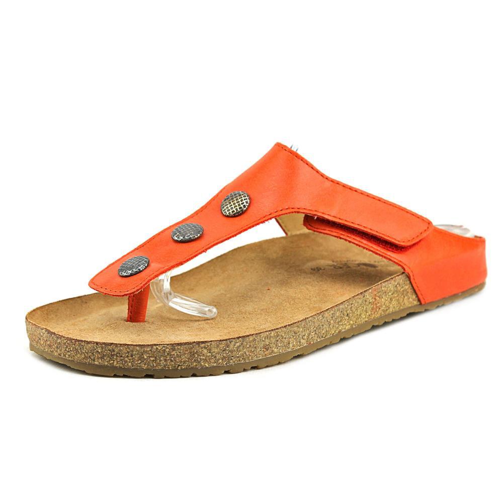 Haflinger Lisa Open Toe Leather Thong Sandal by Haflinger