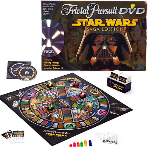 Star Wars Trivial Pursuit DVD Game by Parker Brothers