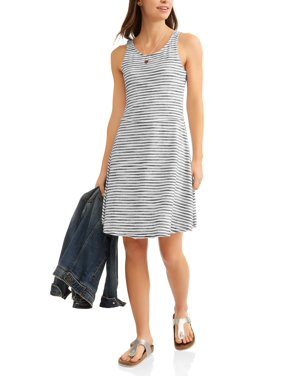 624ae559da6 Product Image Women s Fit and Flare Stripe Dress