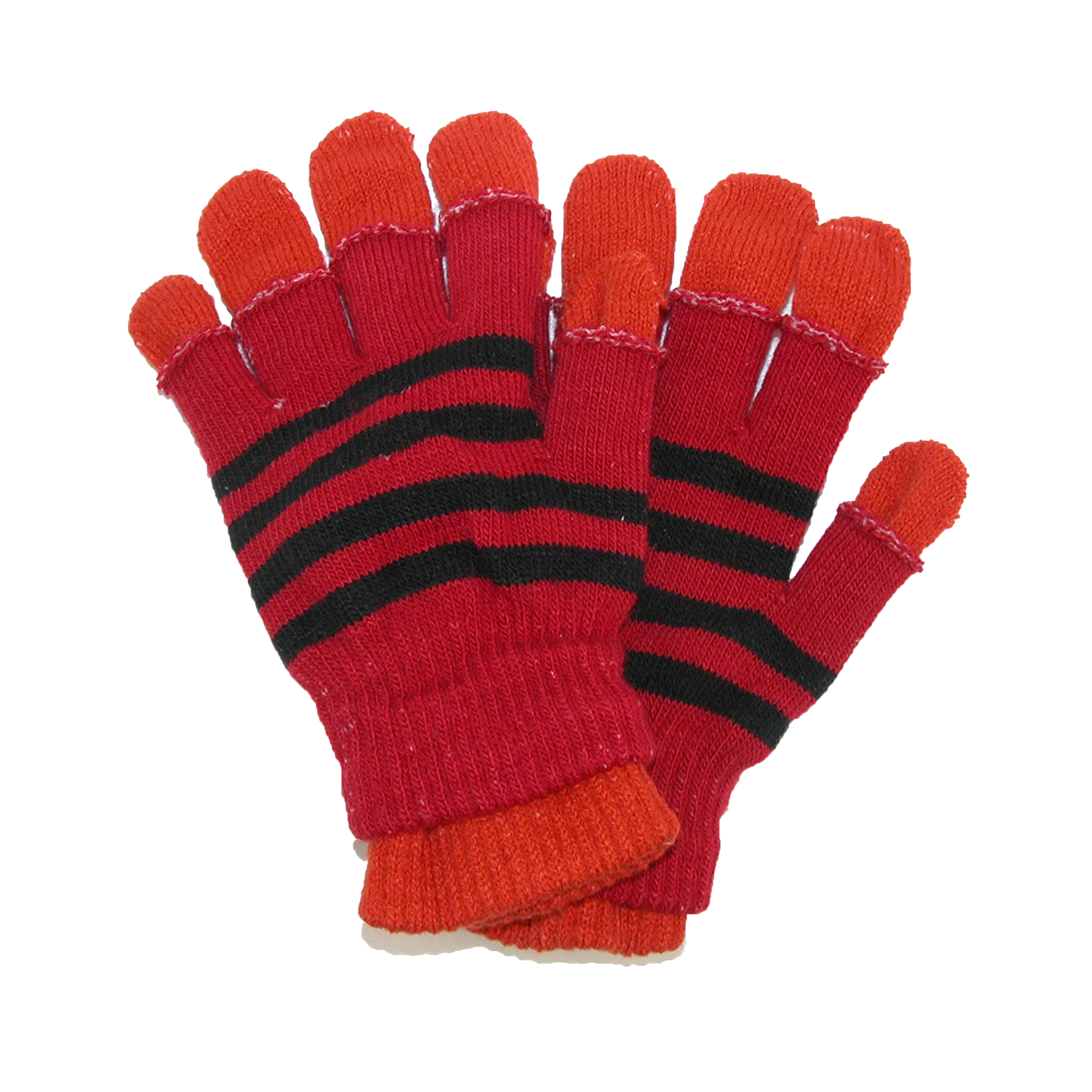 CTM®  Womens and Teens 2 in 1 Winter Stretch Gloves