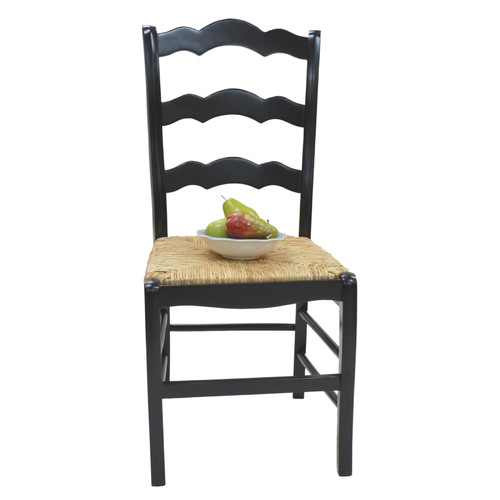 Carolina Cottage Vienna Ladder Back Solid Wood Dining Chair