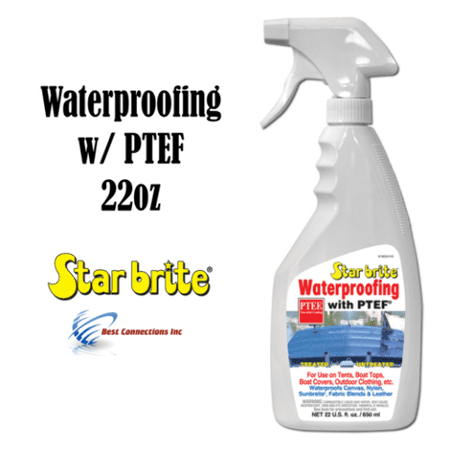 Waterproofing With PTEF 22oz Marine Fabric Cleaning Supply Star Brite (Best Fabric Cleaner For Car Seats)