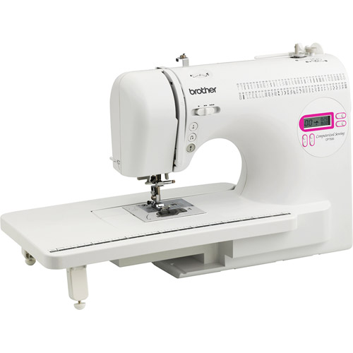 Brother 70-Stitch Computerized Sewing Machine with Extension Table, CP7500