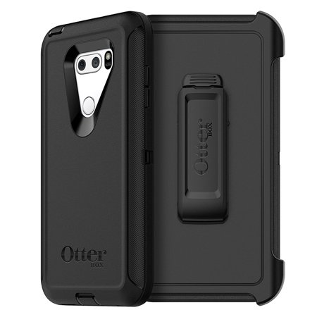 OtterBox Defender Series Case for LG V30 & LG v30+ - Black (Lg Tablet Case Otter Box)