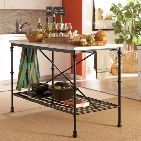 Coaster French Bistro Style Kitchen Island With Faux