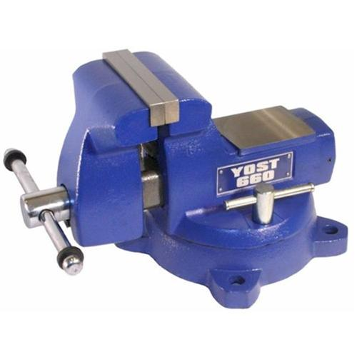 Yost Vises 11660 5-3 4'' Jaw Opening Bench Vise by Yost Vises