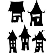More Wonky Houses Skinny Minny Mask - Joggles