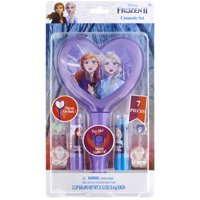Disney Frozen ll Lip Sticks and Rings with Light Up Mirror