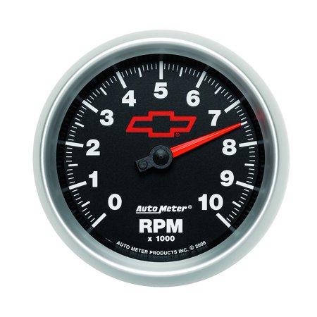 C3 C4 C5 C6 C7 Corvette 1968-2014+ Autometer 3-3/8 inch In Dash Tachometer 0-10000 RPM - GM - Corvette Dash Cover