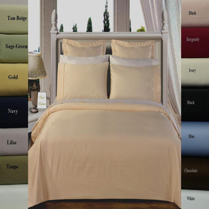 Solid 100-Percent cotton 300 Thread count Duvet Covers