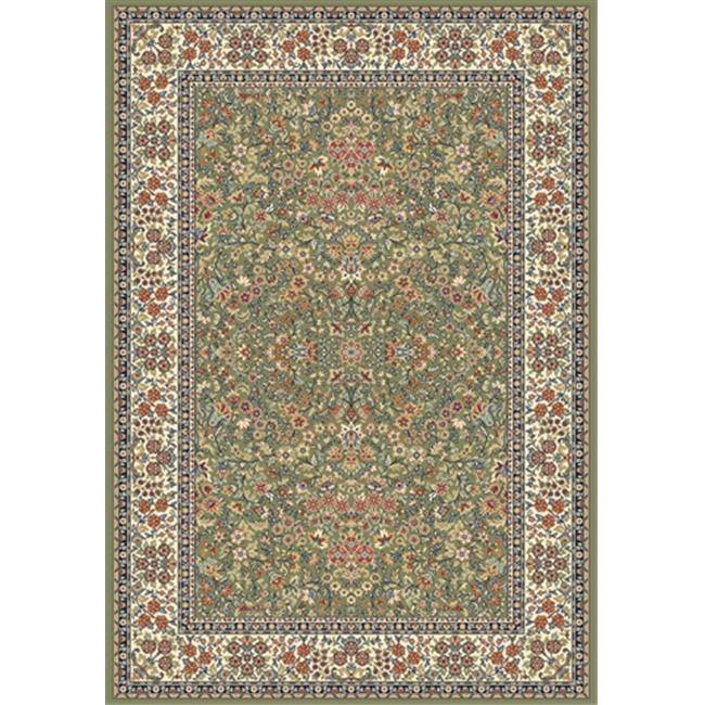 Dynamic Rugs AN28570784444 Ancient Garden 2 ft. 2 in. x 7 ft. 7 in. 57078-4444 Rug - Green/Ivory - image 1 of 1