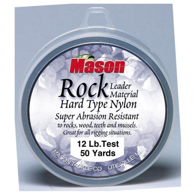 Mason Tackle Company RL-50-10 Rock Hard Type Nylon - 10 lb.