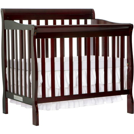 Dream On Me Aden 4 In 1 Convertible Mini Crib Espresso