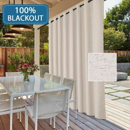 100 Blackout Patio Door Linen Curtains For Sliding Door Extra Long