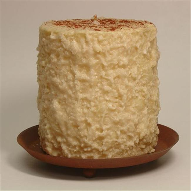 Hearth & Home Traditions 20024 4x4.5 Cake Candle - Snickerdoodle