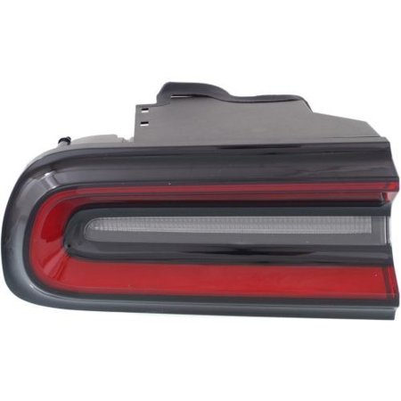 Go-Parts » 2015 - 2016 Dodge Challenger Rear Tail Light Lamp Assembly / Lens / Cover - Left (Driver) Side 68174069AF CH2800207 Replacement For Dodge Challenger