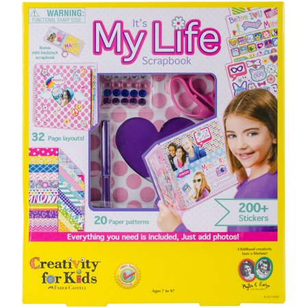 It's My Life Scrapbook Kit - Craft Kit by Creativity for - Kits For Kids