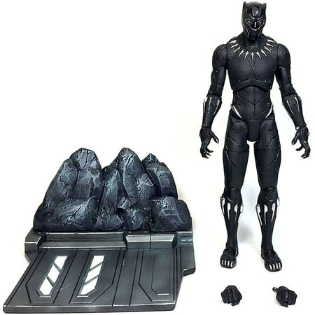 Marvel Select Black Panther Action Figure [2018 Movie - Ultimate Black Panther
