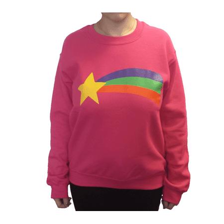 Dipper From Gravity Falls Costume (Mabel Pines Sweatshirt Gravity Falls Costume Pink Cosplay Rainbow TV)
