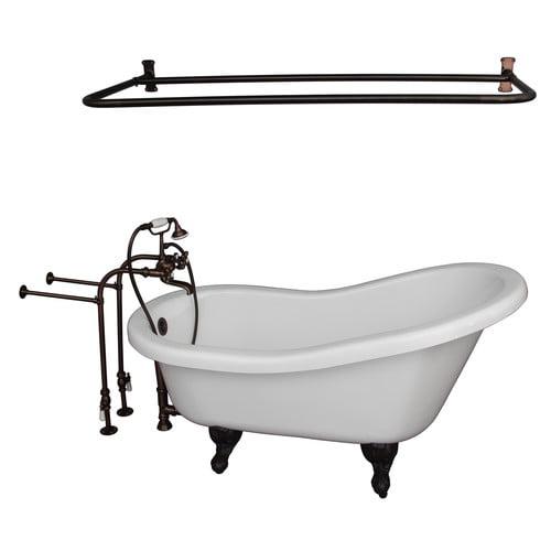 Barclay 67'' x 30'' Soaking Bathtub Kit