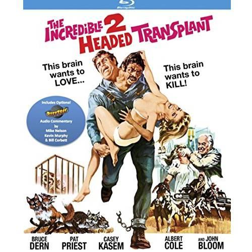 The Incredible 2-Headed Transplant (1971) (Blu-ray)
