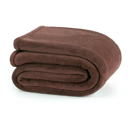 Super Plush Full Gray Blanket