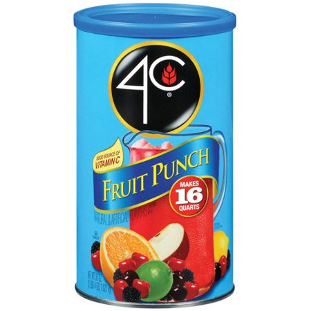 Punch Drink For Halloween (4C Fruit Punch Drink Mix, 36)