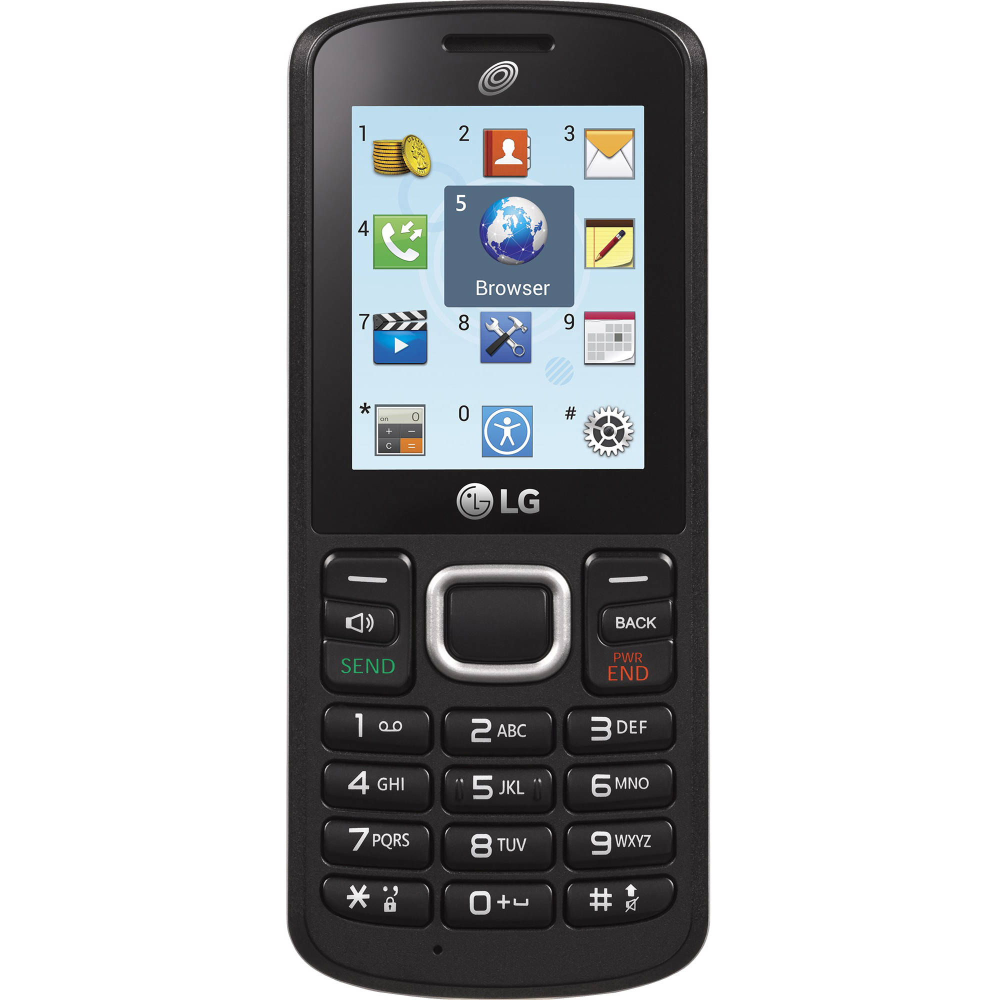 Straight Talk LG L109C Prepaid Phone