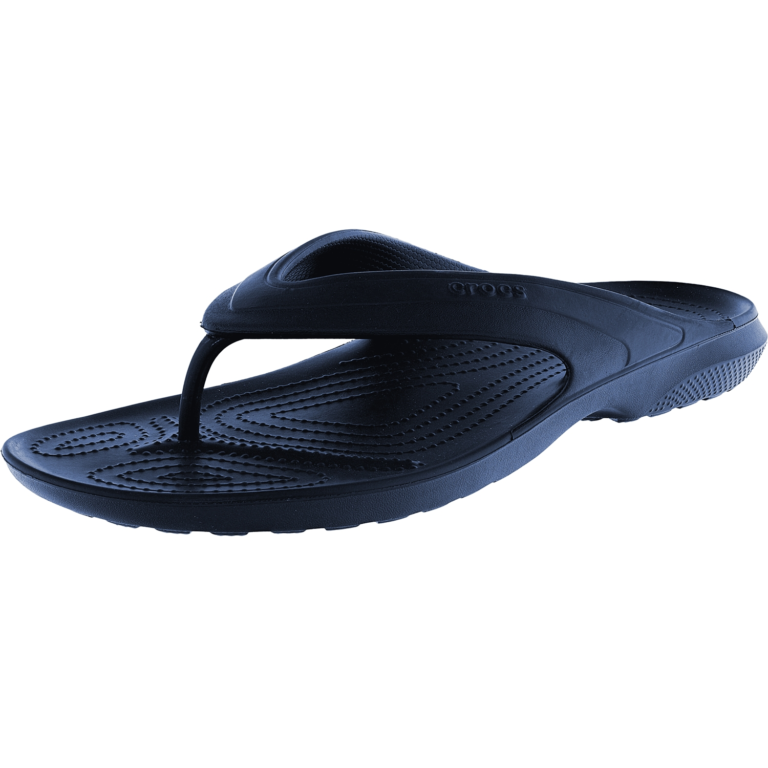 Crocs Classic Flip Navy Low Top Rubber Sandal 14M   12M by Crocs