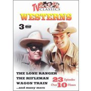 TV Classic Westerns, Vol. 1-3: The Lone Ranger The Rifleman Wagon Train...and Many More (3 Discs) (Full Frame) by PLATINUM DISC CORPORATION