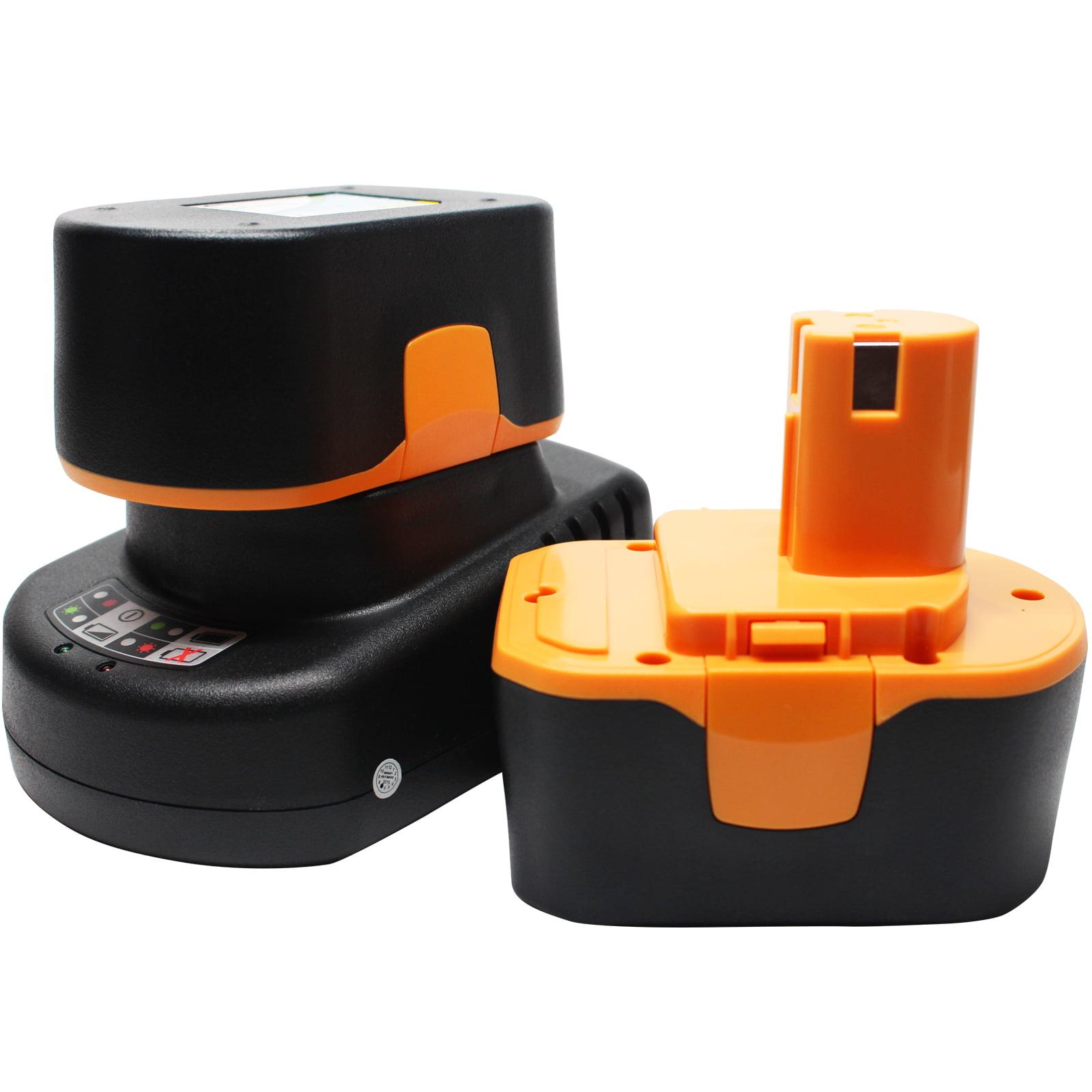 UpStart Battery 2-Pack - Ryobi HP1441 Battery + Universal...