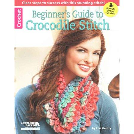 Begin Guide Crocodile Stitch