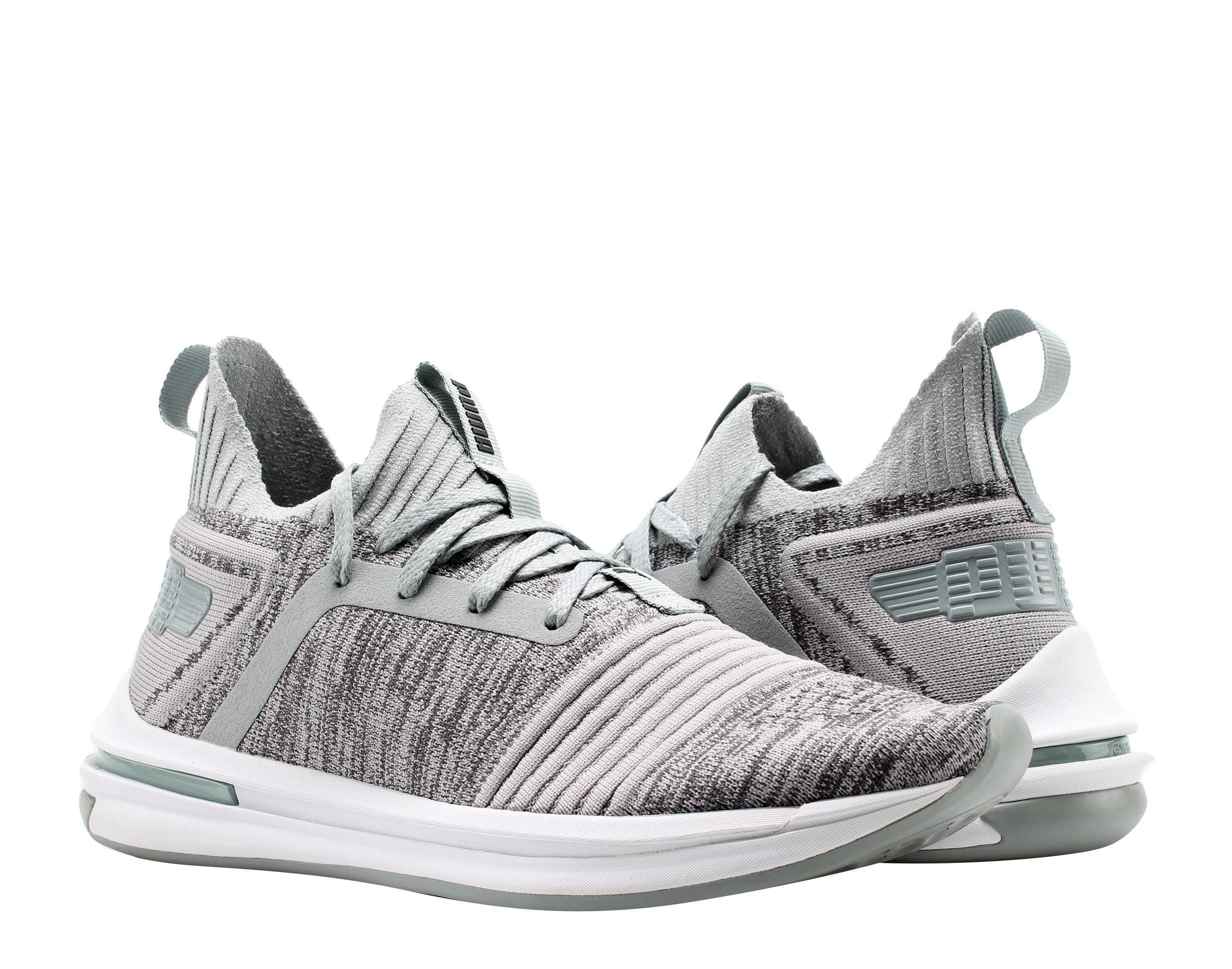 5f2272cbccfe98 PUMA - Puma IGNITE Limitless SR EvoKnit Quarry Grey Men s Running Shoes  19048404 - Walmart.com