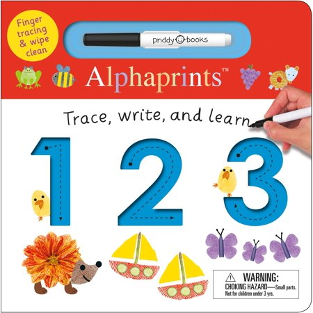 Trace Write and Learn 123 (Board Book) (Learn 123)
