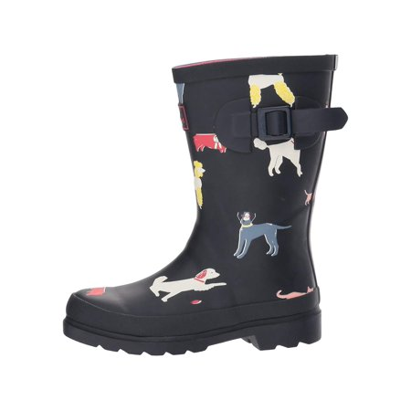 Kids Joules Girls Y_Jnrgirlswly Rubber Mid-Calf Pull On Rain