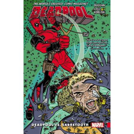 Cable Vs Deadpool (Deadpool: World's Greatest Vol. 3 : Deadpool Vs.)