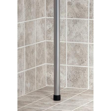 Interdesign york tension shower caddy 2 best bathroom for Interdesign york