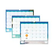 """Blue Sky 2021 15"""" x 12"""" Wall Calendar, Endless Summer"""