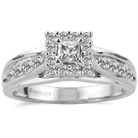 Keepsake Melody 1 2 Carat TW Certified Diamond 10kt White Gold Ring