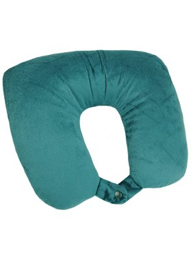 American Tourister 2-in1 Convertible Travel Pillow, Hawaiian Blue