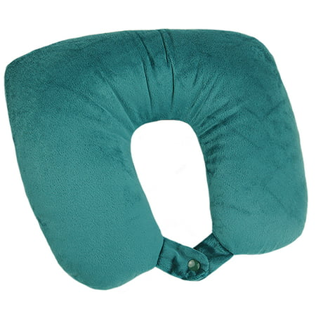 - American Tourister 2-in1 Convertible Travel Pillow, Hawaiian Blue