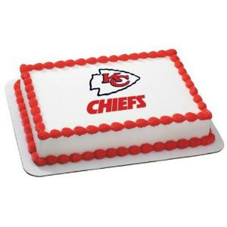 Nfl Kansas City Chiefs Cake Decoration Edible Frosting Photo Sheet