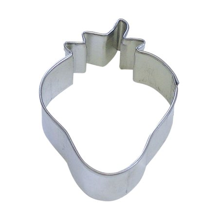 Strawberry Cookie Cutter (Strawberry 2.5 in B1276X - R&M Brand Cookie Cutters - Tin Plate)