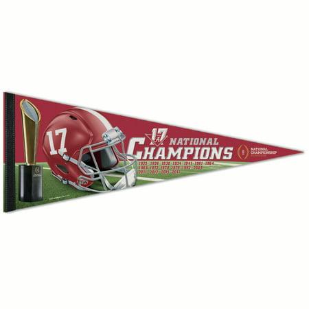 Alabama Crimson Tide WinCraft College Football Playoff 2017 National Champions 12
