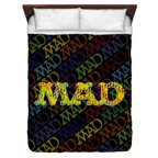 Mad So Much Mad Queen Duvet Cover White 88X88