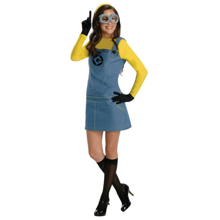 Despicable Me Minion Ladies Costume - Minions Despicable Me Halloween Costumes